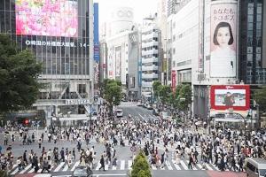 【渋谷区】スクランブル交差点