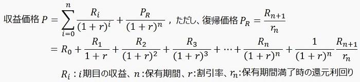 【定義式】収益価格(DCF法)_700