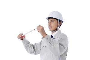 測量・メジャー巻き尺・計測・境界画定_s